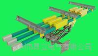 200A360度单极滑触线集电器