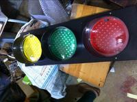 红、黄、绿滑触线指示灯