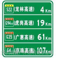 高速公路指示牌 指路牌