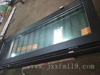 鈦金玻璃防火門 QTFM-2124