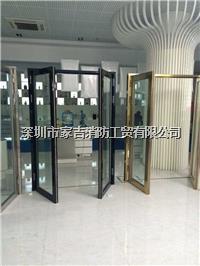 防火玻璃门、甲级防火玻璃门