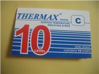 英国10格C型THERMAX温度变色纸 TMC测温纸 10格C型温度试纸 热敏试纸 10格C型