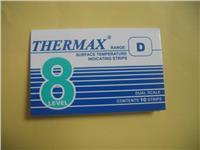 英国TMC温度试纸 感温热敏试纸THERMAX 8格D型热敏试纸 8格D型