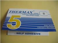 5格B型温度标签 英国TMC温度变色纸 5格B型测温试纸 THERMAX温度贴纸 5格B型