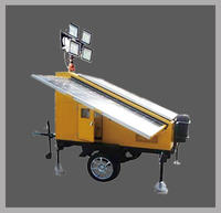 太阳能移动照明灯塔 LX-SFW6130T