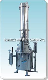 TZ400不锈钢塔式蒸汽重蒸馏水器 TZ400