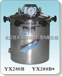 YX280B*手提式不锈钢压力蒸汽灭菌器 YX280B*煤电两用型