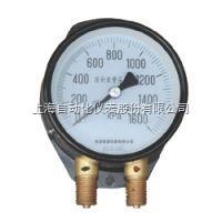 YZS-102上海仪表四厂/自仪四厂/白云牌YZS-102双针双管压力表说明书、参数、价格