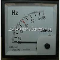 Q72-HZC上海自动化仪表一厂Q72-HZC频率表