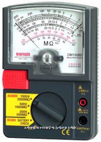 指针式绝缘电阻测试仪|兆欧表 DM5218S