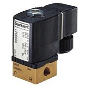 BURKERT6013型直动式电磁阀基本工作流程 6013
