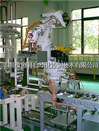CF整廠玻璃面板傳送設備整合系統机器人应用