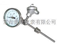 WSSE-501带热电偶远传双金属温度计
