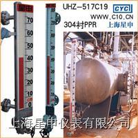 不锈钢衬PPR磁翻柱液位计 UHZ-517C19