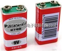 便携式测氧仪专用电池6F22高容量9V层叠电池 氧气分析仪专用电池 6F22