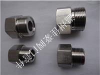 304不锈钢内外丝转换接头,内外螺纹直接,六角内外丝对接,气源液压转换接头 1/2NPT-M20*1.5