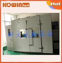 金属步入式恒温恒湿实验室 KW-RM-容积