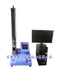 單柱型塑膠彎曲測試機 電腦控制變頻拉力測試機  KW-LL-9010