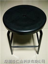 黑色防静电注塑椅子 防静电PU发泡升降凳子、防静电注塑凳子、防静电椅子厂家