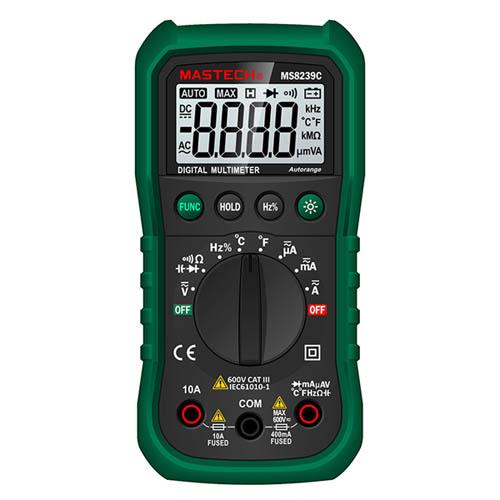 袖珍自动量程数字多用表 MS8239C