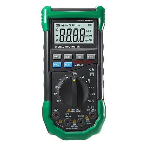 新型自动量程数字多用表 MS8268