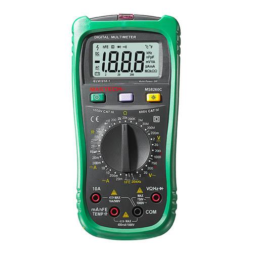 手持数字多用表 MS8260C