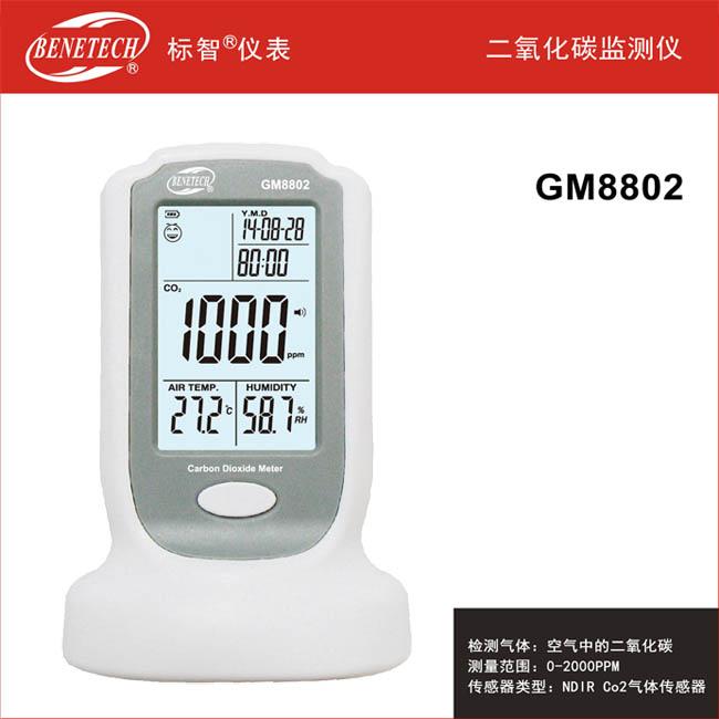 二氧化碳监测仪 GM8802