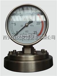 耐震膜片压力表,耐腐膜片压力表 YPF-100
