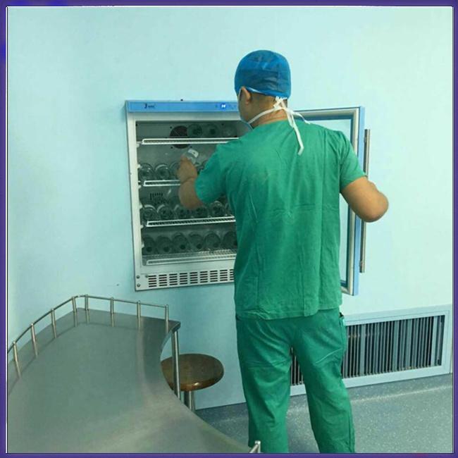 镶嵌式医用恒温冰箱