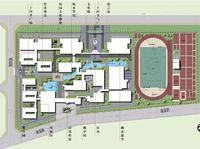(珠海上禾)公共空间园林景观设计—珠海市金湾一中