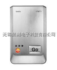 testo 176 T1 - 溫度記錄儀,Pt100溫度傳感器確保高精度溫度測量,可存儲多達兩百萬組測量數據,電池壽命長達8年 testo 176 T1