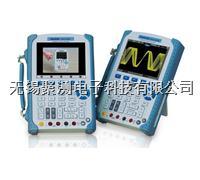 漢泰DSO1000BV系列手持式示波器,6000Count 計數萬用表, 示波器與萬用表電氣隔離, 640*480的高分辨率,1M 存儲深度,視頻幫助功能 漢泰DSO1000BV系列