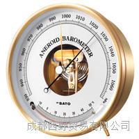 日本佐藤(SATO)Aneroid晴雨表(带温度计) Aneroid晴雨表(带温度计)