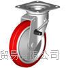 成都西野新产品重庆地区代理日本狮子吼SISIKU带旋转止动器的脚轮 LWJB-200
