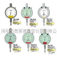 日本TECLOCK得乐TM-102 TM-98 TM-5210百分表 千分表
