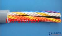 墊江縣柜內接線電纜80米X10根,2芯,1.0平方,硬線字母含義