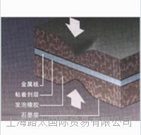 TOMBO No.1608 耐油性发泡橡胶金属板类型 No.1608