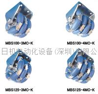 原装进口 京町脚轮 KYOMACHI小直径万向轮 MBS125-4MC-K MBS125-4MC-K