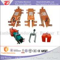 multipolar enclosed crane power supply insulated busbar HXTS