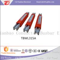 160A- 500A aluminum conductor crane busbar TBWL