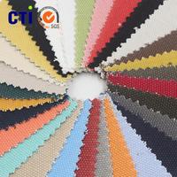 香港厂商现货供应 24安士全棉染色帆布 粗珠帆布 箱包鞋帽帆布