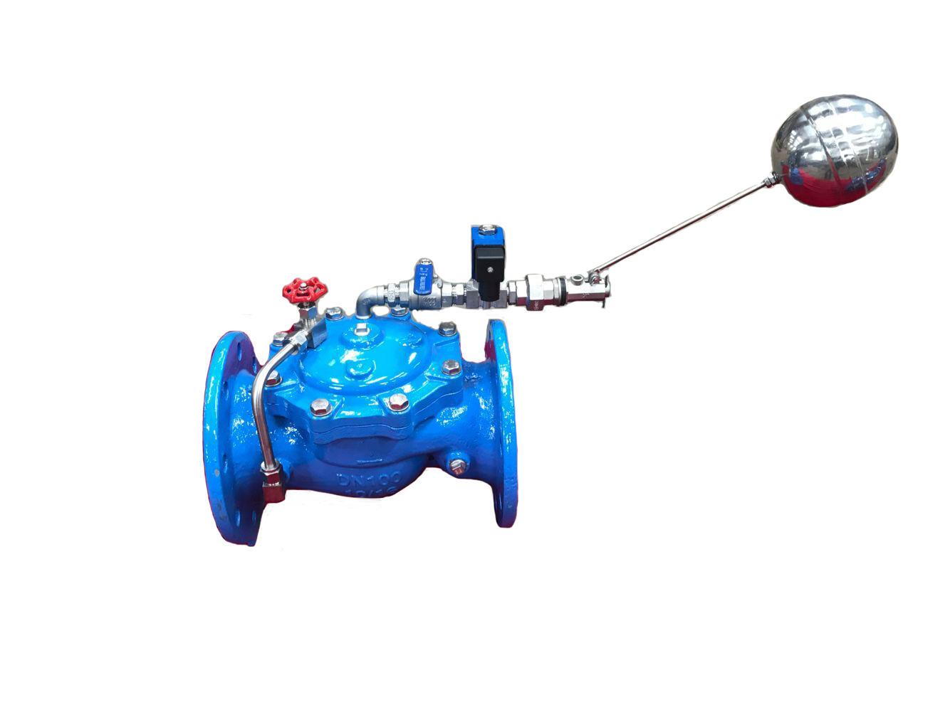 106X 电 动 遥 控 浮 球阀