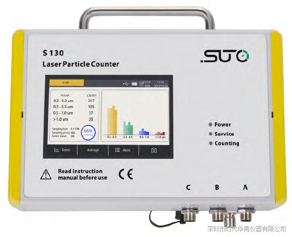 S130激光空气颗粒计数器