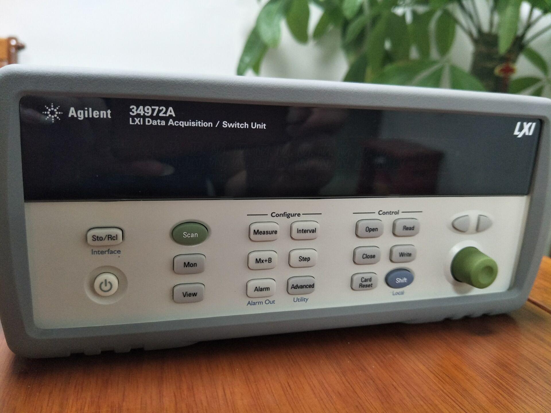 出售新款原装 Agilent 34972A 数据采集仪