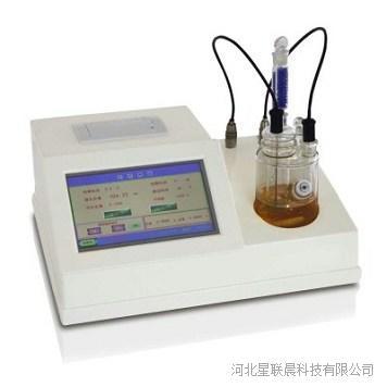 触屏微库仑电量法微量水分测定仪