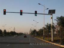 太阳能信号灯杆