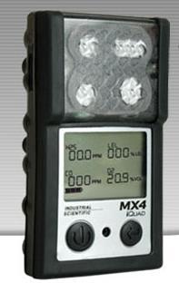 英思科 MX4 iQuad多气体检测仪