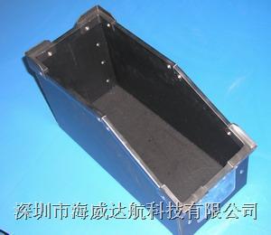 中空板周转箱|中空板斜口元件盒|防静电斜口元件盒