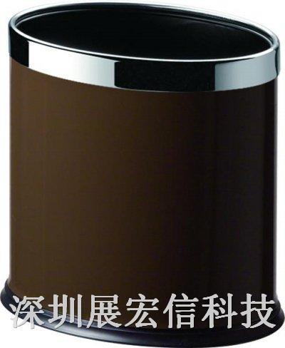 椭圆双层垃圾桶(铁烤漆)