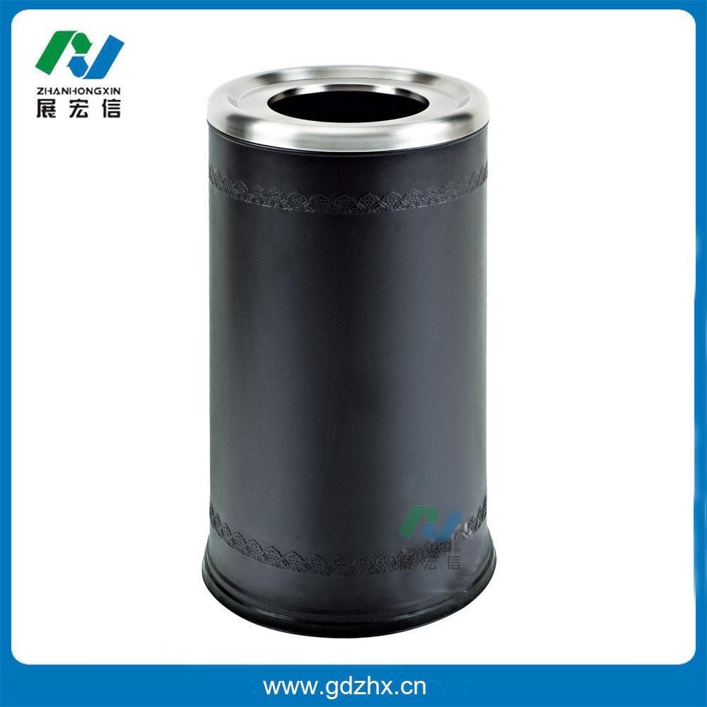 港式垃圾桶(黑色,gpx-110n)